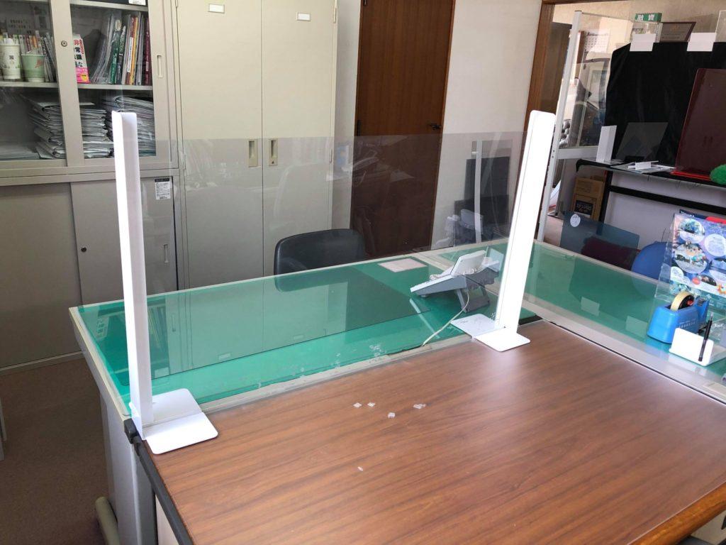 札幌 プラスチック アイドウ 飛沫防止 コロナ パーテーション アクリル板