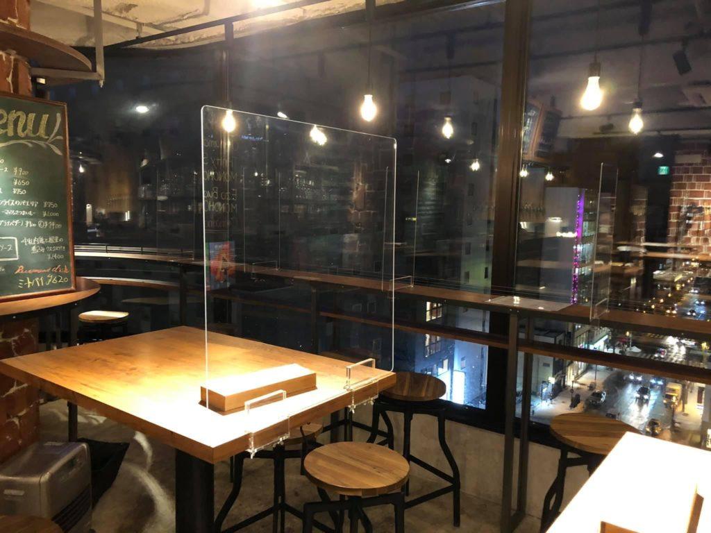 株式会社アイドウ 飛沫防止パネル パーテーション コロナ 飲食店 窓口 札幌 北海道 すすきの