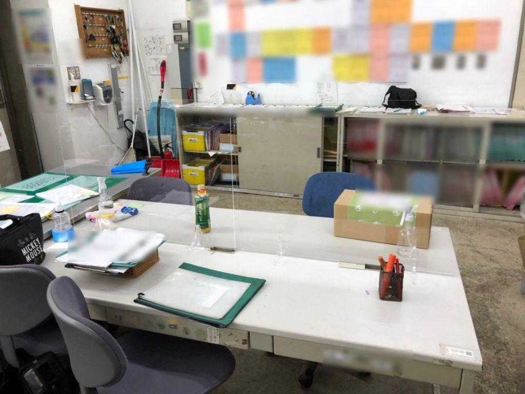 飛沫防止パネル シート 手作り 設置 作り方 ホームセンター アイドウ 札幌 プラスチック加工
