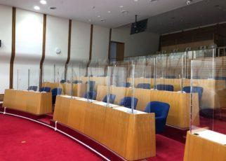 会議室 飛沫感染防止 パネル パーテーション アイドウ 札幌 北海道 コロナ