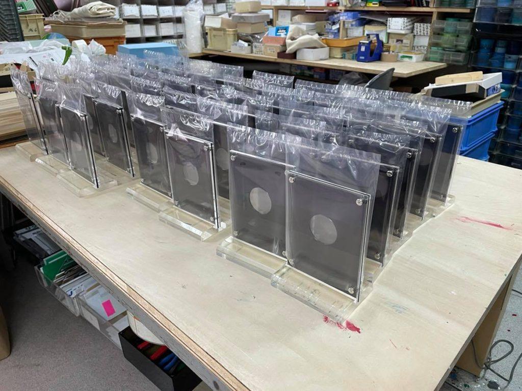 株式会社アイドウ プラスチック加工 メダルケース コインケース オーダーメイド 野球 スーベニア