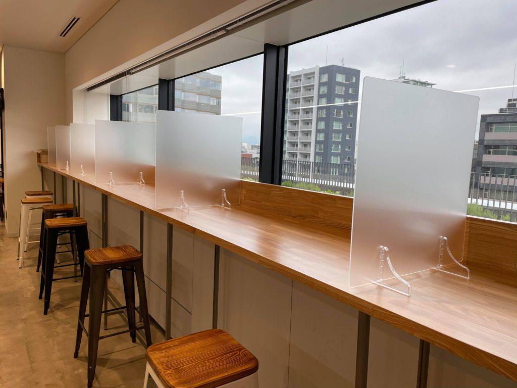 株式会社アイドウ すりガラス 飛沫防止パネル 札幌 オーダーメイド プライバシー