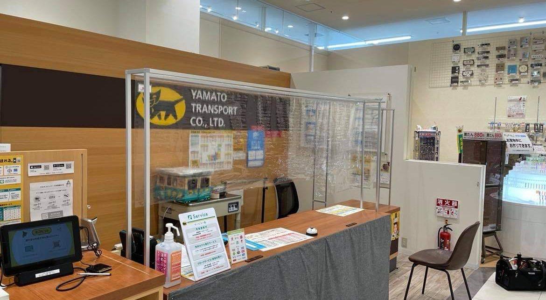 防炎ビニールシート 飛沫防止パネル 札幌 商業施設 アイドウ プラスチック加工